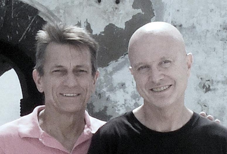 Steve Davis and Bob Evans